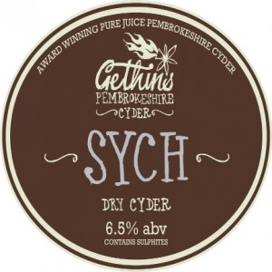 Gethins Barrel Label Sych1